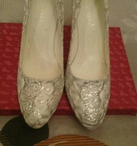 Туфли свадебные 37