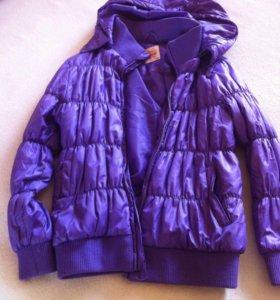 Куртки весна зима на девочку.
