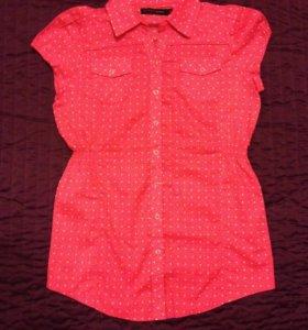 Рубашка х/б с коротким рукавом