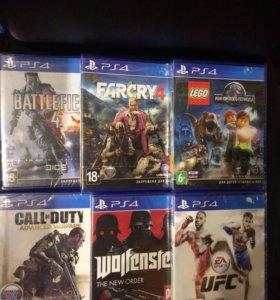 PS 4 игры новые лицензия