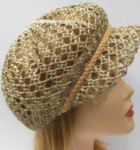 💎Кепка шляпка женская из соломки