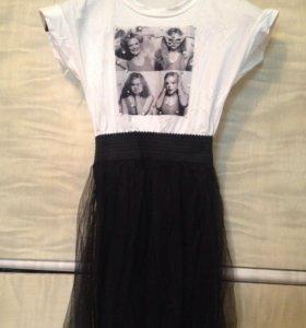 Модное платье 40-42-44
