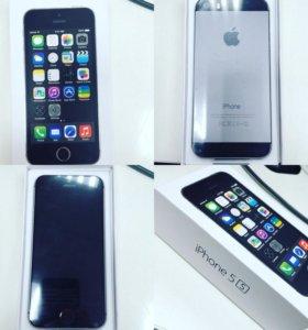iPhone 5s черный на 64 гб