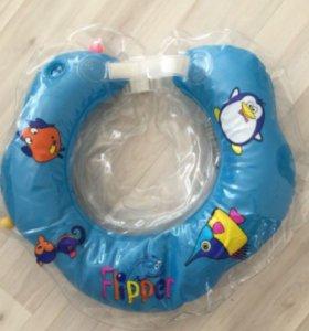 Детский надувной круг Flipper для купания