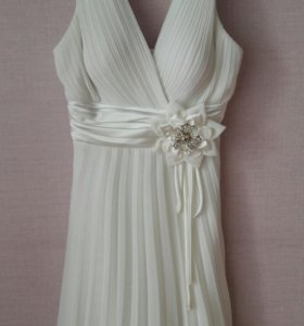 Платье белое