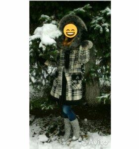 Продаю теплое зимнее пальто