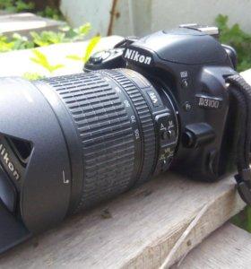 Продаю Nikon D3100 с объективом AF-S Nikkor 18-105