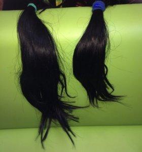 Продаю натуральные волосы на капсулах 60 дл и 40дл
