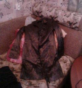 Плащи и куртка