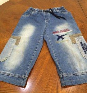 Бриджи GeeJay 116 122 джинсовые