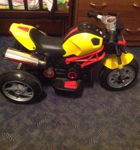 Прокат Детский мотоцикл (электромобиль)