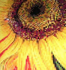 Картина Пылающий подсолнух