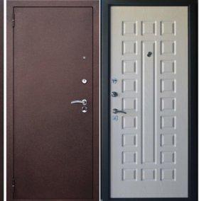 Входные двери беленый 13200