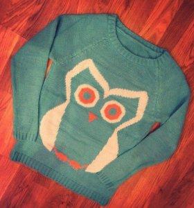 Свитшот/свитер сова