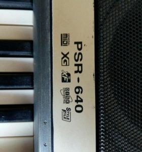 Синтезатор YAMAHA PSR 640 Япония