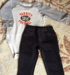 Carters  комплект (боди, штанишки) 9М