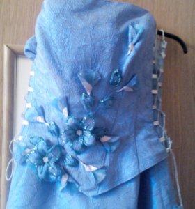 Платье с корсетом. Размер 46_48