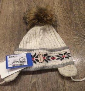 Зимняя новая шапка для девочки