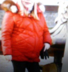 Зимняя куртка для беременной