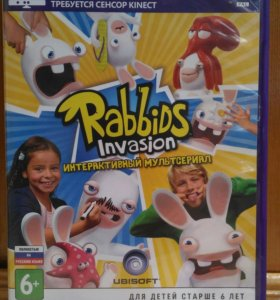 Игра RABBIDS INVASION для XBOX 360