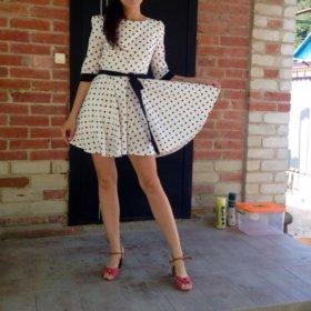 Чудесное летнее платье xs-s