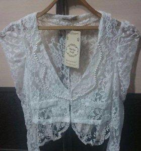 Болеро гипюровое ( блузка )