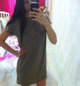 Новое спортивное платье 44р