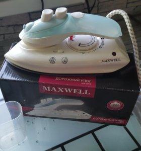 Дорожный утюг MAXWELL