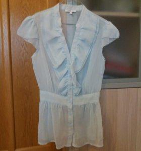 Прозрачная легкая блузка