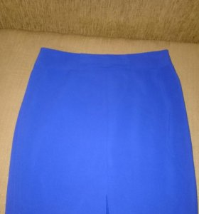 Модная юбка -карандаш с изящным бантиком на талии