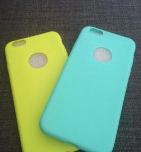 Селиконовые на iPhone 6,6s