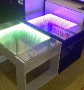 Стол со светодиодной подсветкой