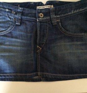 Новая джинсовая юбка Fornarina