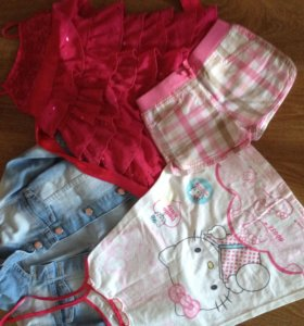Одежда на девочку 4-5 лет
