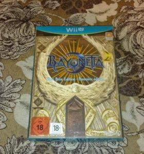 Bayonetta First Print Edition Wii U