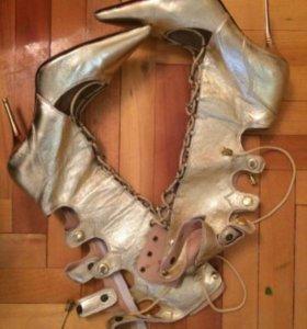 Сапожки туфли