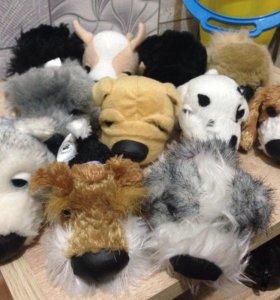 Собачки коллекционные 11шт