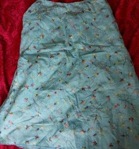 Хлопковая кофточка для беременной