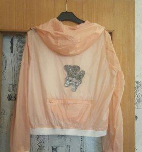 Нежно-розовая ветровка Yidi.beinu