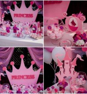 Праздник в стиле принцесса