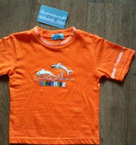 Новая футболка Tenerife. На 4 года.