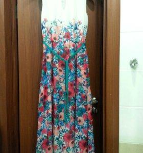 Платье в пол р.42-44