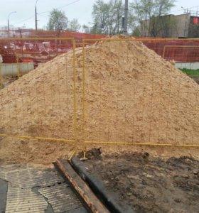 Песок щебень дрова с доставкой