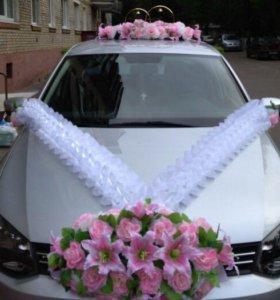 Комплект для оформления свадебной машины