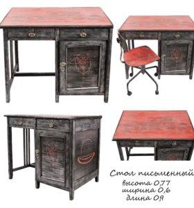 Стол письменный и стул комплект
