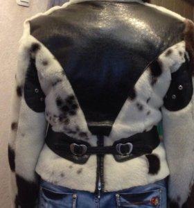 Куртка из натуральной кожи и меха (овчина)
