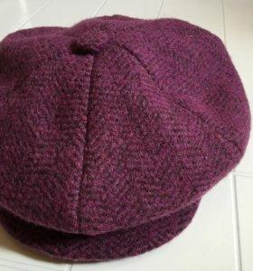 Шерстяная кепи шапка