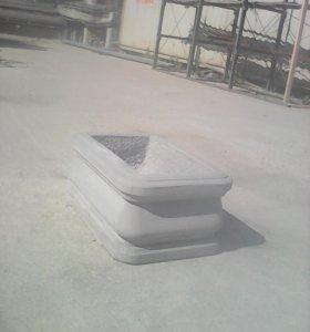 Вазон бетонный.
