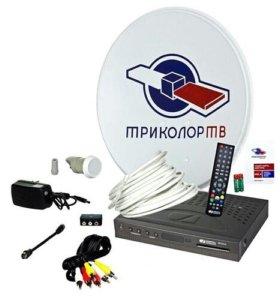 Установка и продажа спутникового телевидения.
