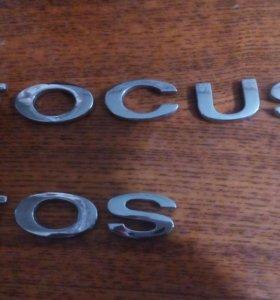Надпись на Форд Фокус 3 Ford Focus 3